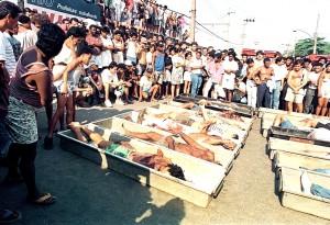 20 anos do Massacre de Vigário Geral