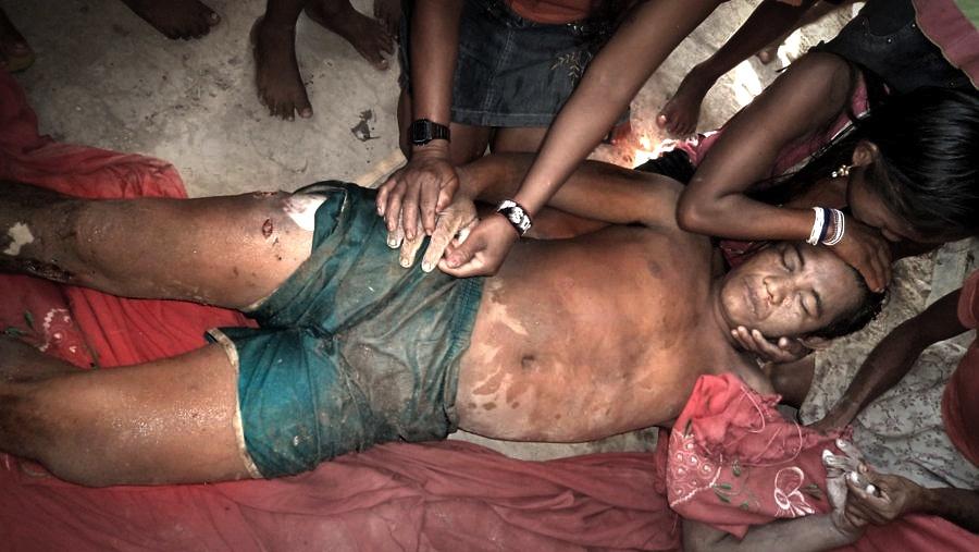 Adenilson Kirixi Munduruku, assassinado pela Polícia Federal com três tiros em novembro de 2012